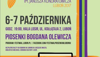 Festiwal Piosenki – plakat