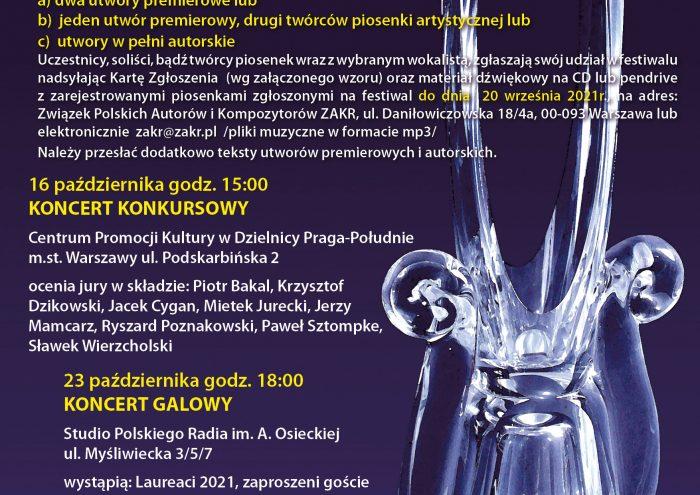 ZAKR - I Festiwal Polskiej Piosenki KRYSZTAŁOWY KAMERTON